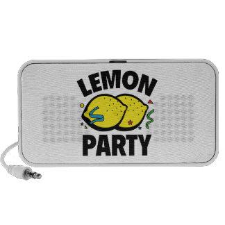 Lemon Party Laptop Speakers