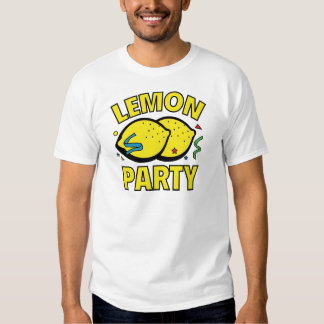 Lemon Party Tee Shirts