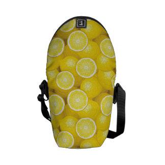 Lemon Pattern 2 Courier Bag