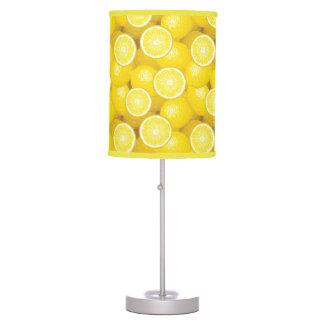 Lemon Pattern 2 Desk Lamp