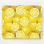 Lemon Pattern 2 Mouse Pad