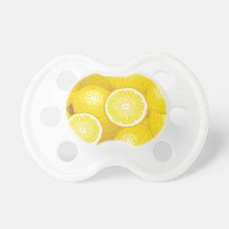 Lemon Pattern 2 Pacifier