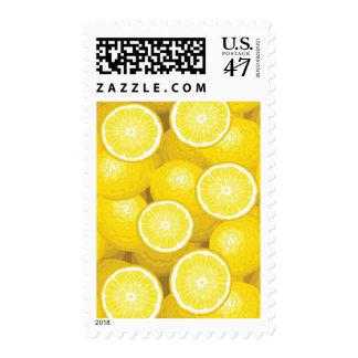Lemon Pattern 2 Postage