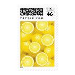 Lemon Pattern 2 Postage Stamps