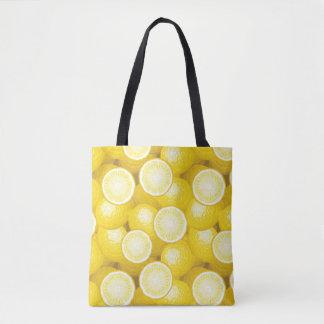 Lemon Pattern 2 Tote Bag