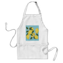 Lemon Pattern Adult Apron
