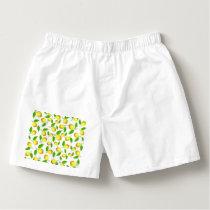 Lemon pattern boxers