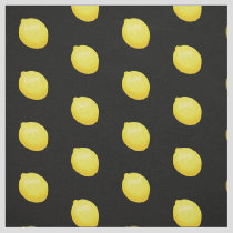 Lemon Pattern Fabric