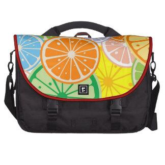 Lemon pattern bags for laptop