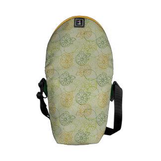 Lemon Pattern Messenger Bag
