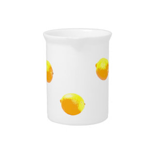 lemon pattern version 1 drink pitcher