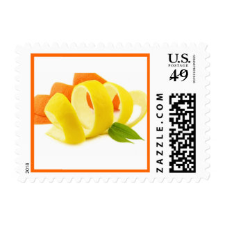 Lemon peel stamps