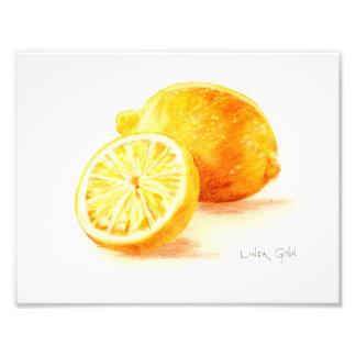 Lemon Photo Print