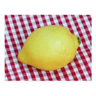 Lemon Picnic Postcard