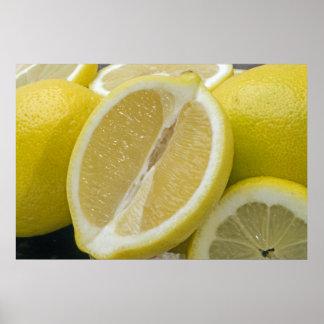 Lemon Picture Poster