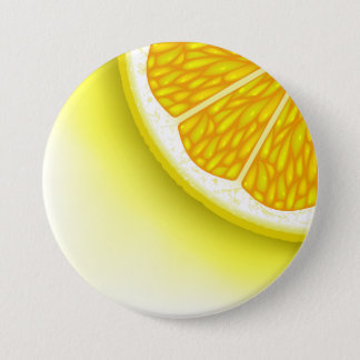 Lemon Pieces Pinback Button