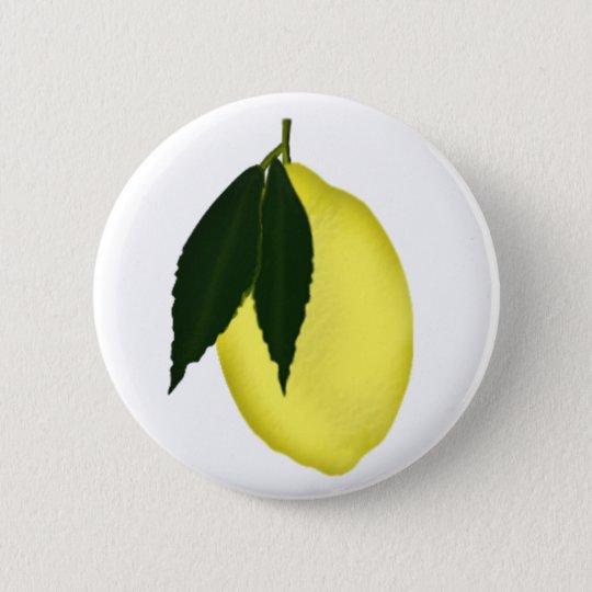 Lemon Pinback Button