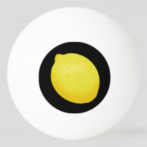 Lemon Ping Pong Ball
