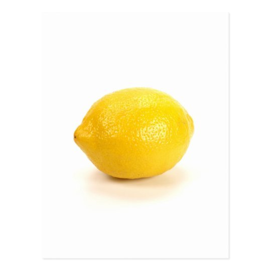 Lemon Postcard
