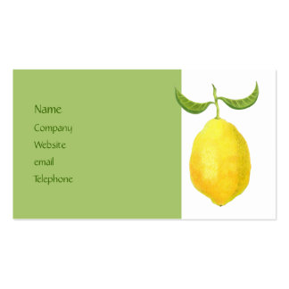 Lemon Profile Card