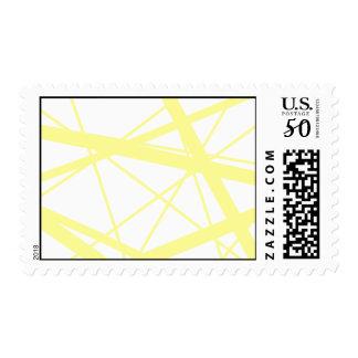 Lemon random stripes postage