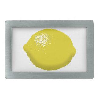 Lemon: Rectangular Belt Buckle