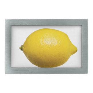 Lemon Rectangular Belt Buckle