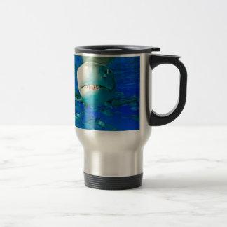 Lemon Shark Travel Mug