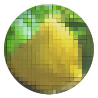 lemon shine plate