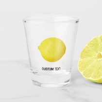 Lemon Shot Glass