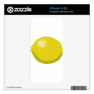 Lemon: Skin For iPhone 4