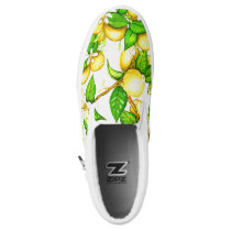 Lemon Sleep on Shoes on white
