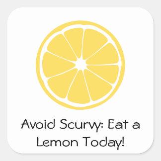 Lemon Slice: Avoid Scurvy! Sticker