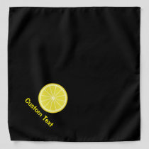 Lemon Slice Bandana