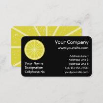 Lemon Slice Business Card