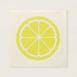 LEMON SLICE by SHARON SHARPE Paper Napkin