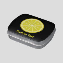 Lemon Slice Candy Tin