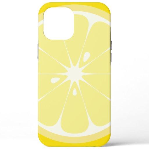 Lemon Slice iPhone 12 Pro Max Case