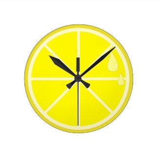 Lemon Slice Clock