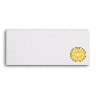 lemon slice envelopes