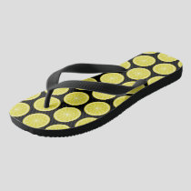 Lemon Slice Flip Flops