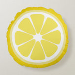 "Lemon Slice Food Pillow<br><div class=""desc"">When life gives you lemons,  make lemonade.</div>"