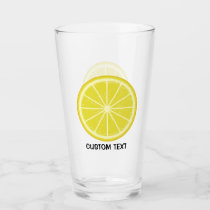Lemon Slice Glass