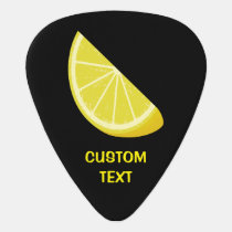 Lemon Slice Guitar Pick