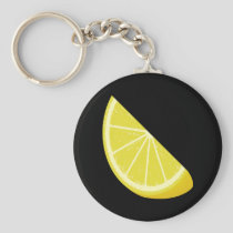 Lemon Slice Keychain