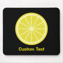Lemon Slice Mouse Pad