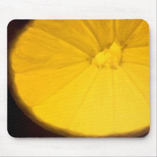 Lemon Slice Mouse Pads