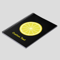Lemon Slice Notebook