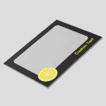 Lemon Slice Notepad