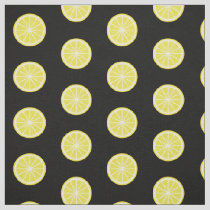 Lemon Slice Pattern Fabric